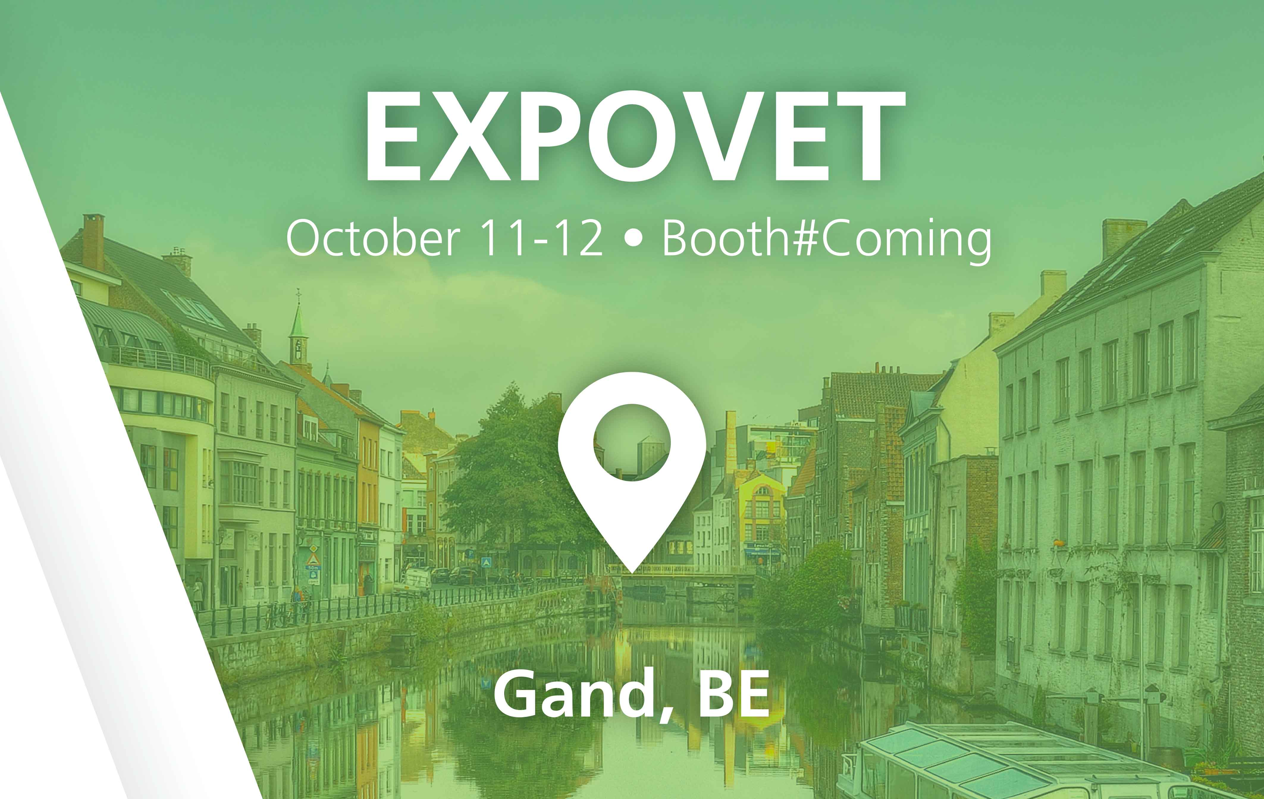 EXPOVET - Gand, BE - October 11-12